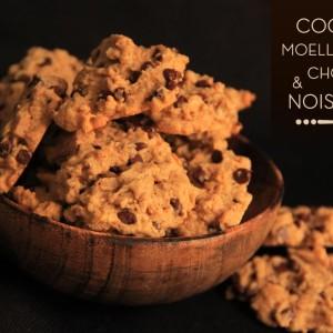 Cookies purée noisettes pépites de chocolat KAOKA