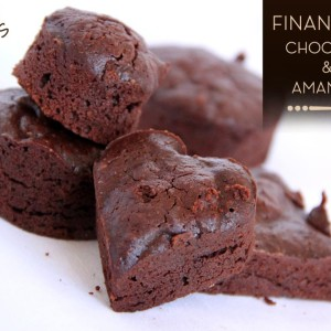 Financiers chocolat purée amandes KAOKA