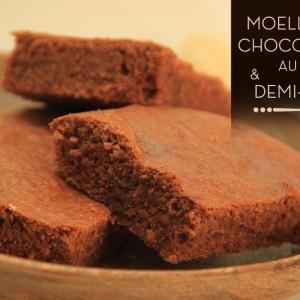 moelleux chocolat au lait demi-sel KAOKA