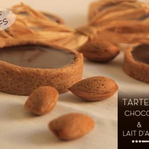 Recette Tartelettes Chocolat Lait Lait Amandes