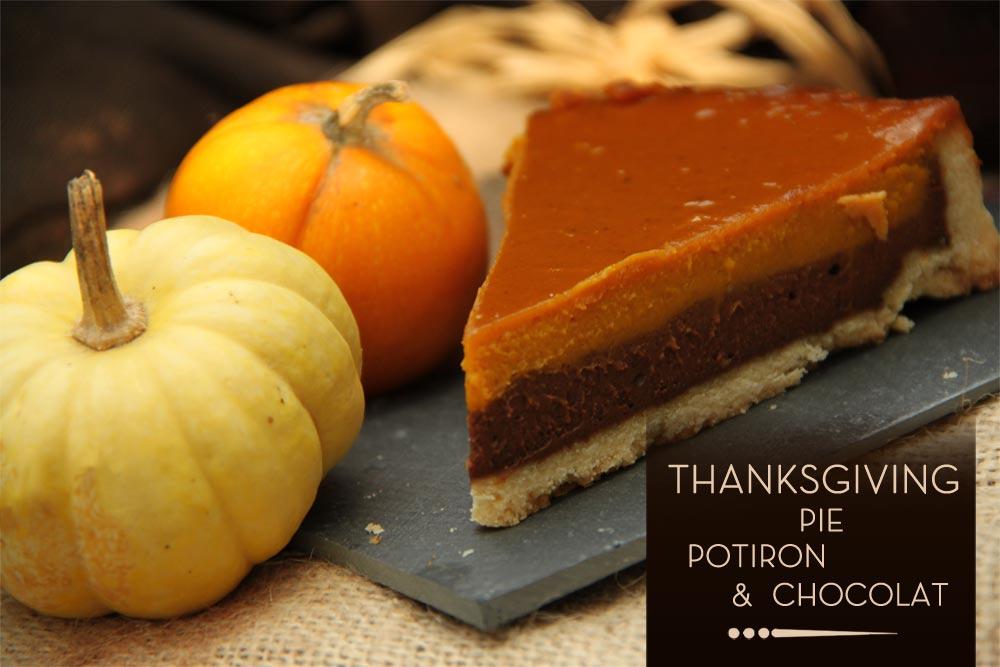 thanksgiving pie potiron chocolat les chocomaniaks. Black Bedroom Furniture Sets. Home Design Ideas