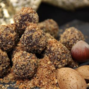 Recette Truffes Chocolat Pralin Amandes Noisettes