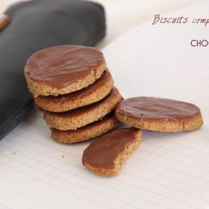 Recette Bicuits complets chocolat au lait bio chocomaniaks