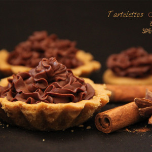 Recettes Tartelettes chocolat bio speculoos KAOKA
