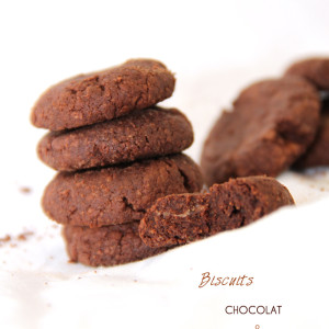 Recette Biscuits chocolat bio pâte d'amandes KAOKA