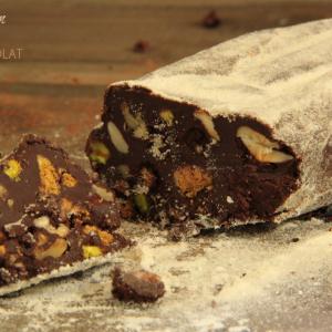 recette saucisson chocolat