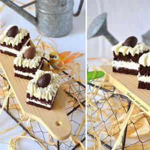recette pâques gâteau chocolat blanc fève tonka