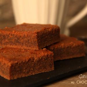 Gateau fondant chocolat au lait bio