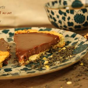 Tarte chocolat lait earl grey