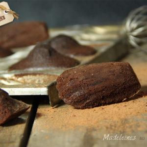 madeleines cacao chocolat bio