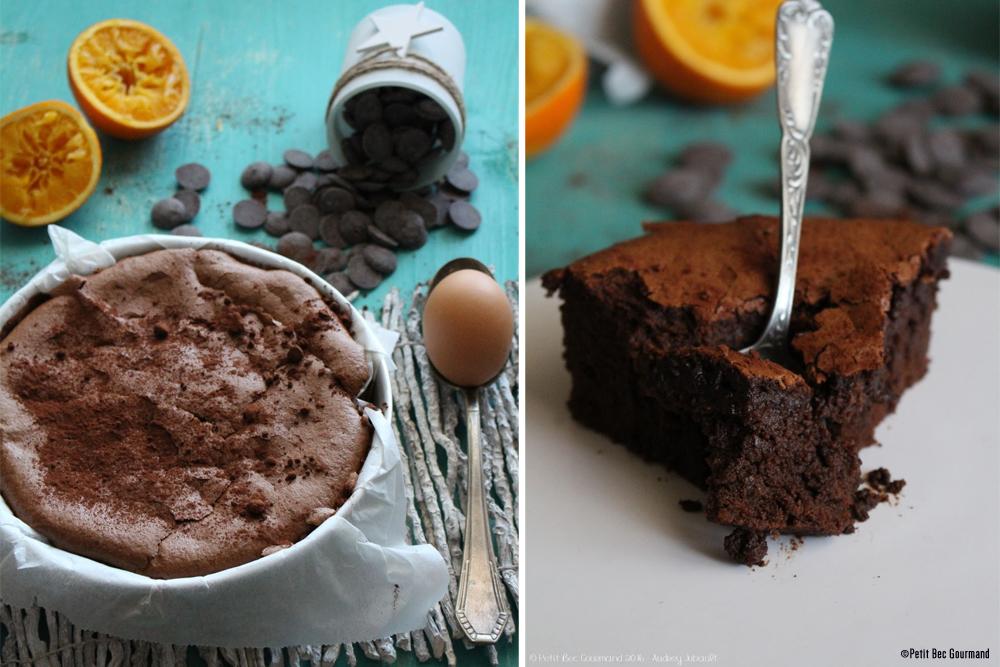 Gâteau Mousse Léger Au Chocolat Zestes Dorange Sans Gluten