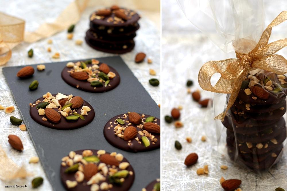 recette mendiants chocolat noël