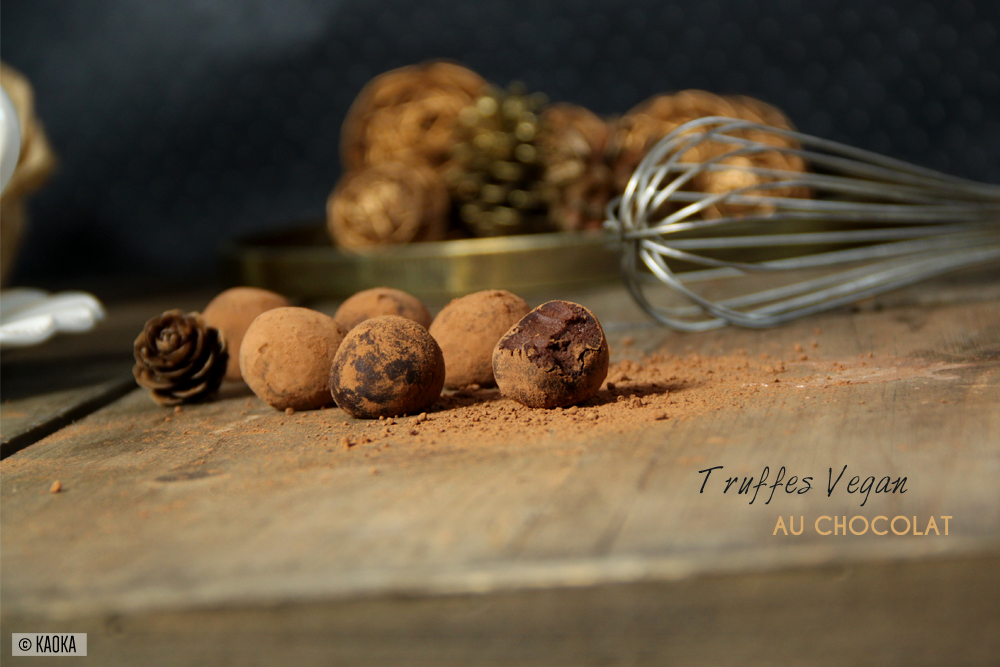 recette truffes vegan chocolat bio equitable