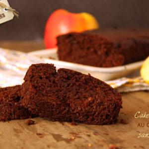 recette cake moelleux chocolat sans beurre