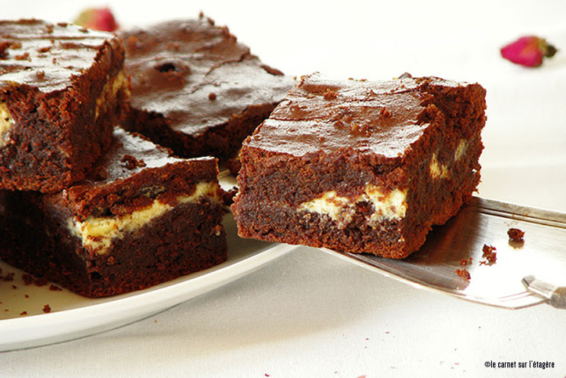 recette brownies orange chocolat blanc