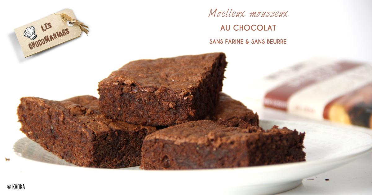 moelleux mousseux au chocolat sans farine sans beurre. Black Bedroom Furniture Sets. Home Design Ideas