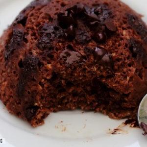 recette bowl cake chocolat