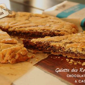 galette rois chocolat cacahuetes