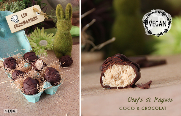 oeufs paques chocolat coco bio equitable