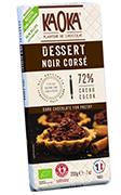 tablette dessert patissier chocolat noir bio equitable