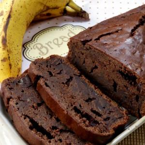 recette banana bread chocolat bio