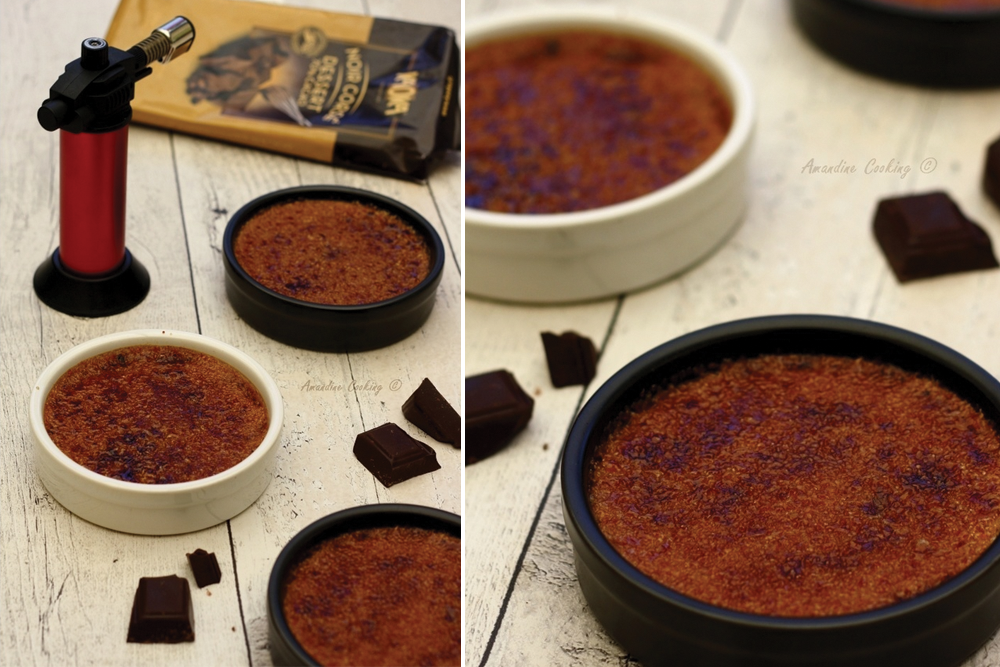 recette creme brulee chocolat bio