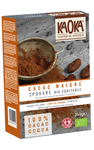 Cacao maigre en Poudre bio