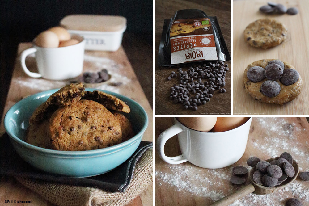 recette cookies fourres chocolat