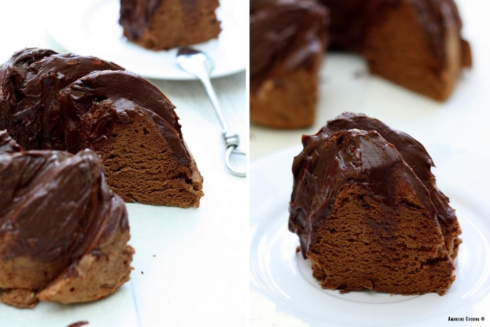 angel cake chocolat