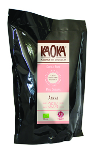 Chocolat Blanc bio équitable KAOKA