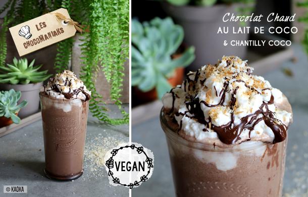 chocolat chaud vegan coco