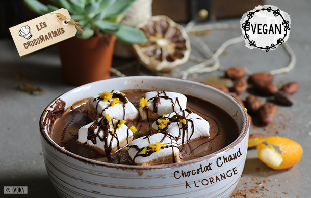 recette chocolat chaud orange
