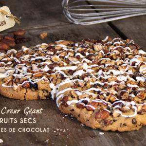 cookies coeur geant saint valentin chocolat