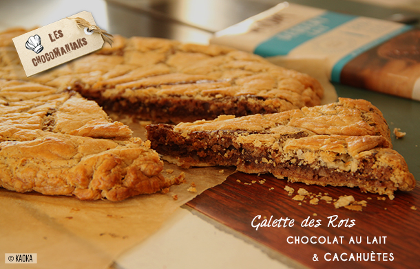 galette rois chocolat cacahuetes