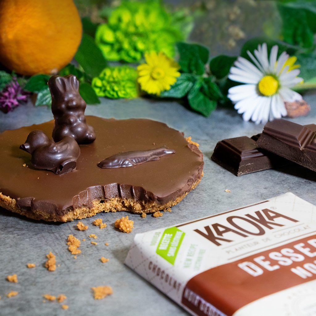 recette tarte chocolat bio sans cuisson