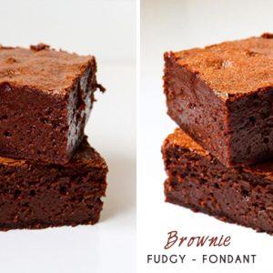 Recette de Brownie Fudgy ultra fondant par Gallymini