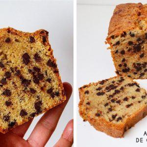 Recette de Cake aux pépites de chocolat par Gallymini