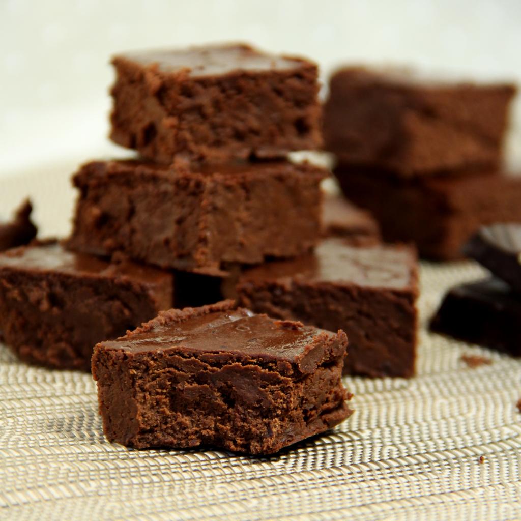 Recette de Fondant au Chocolat & Haricots Rouges (sans beurre sans farine)