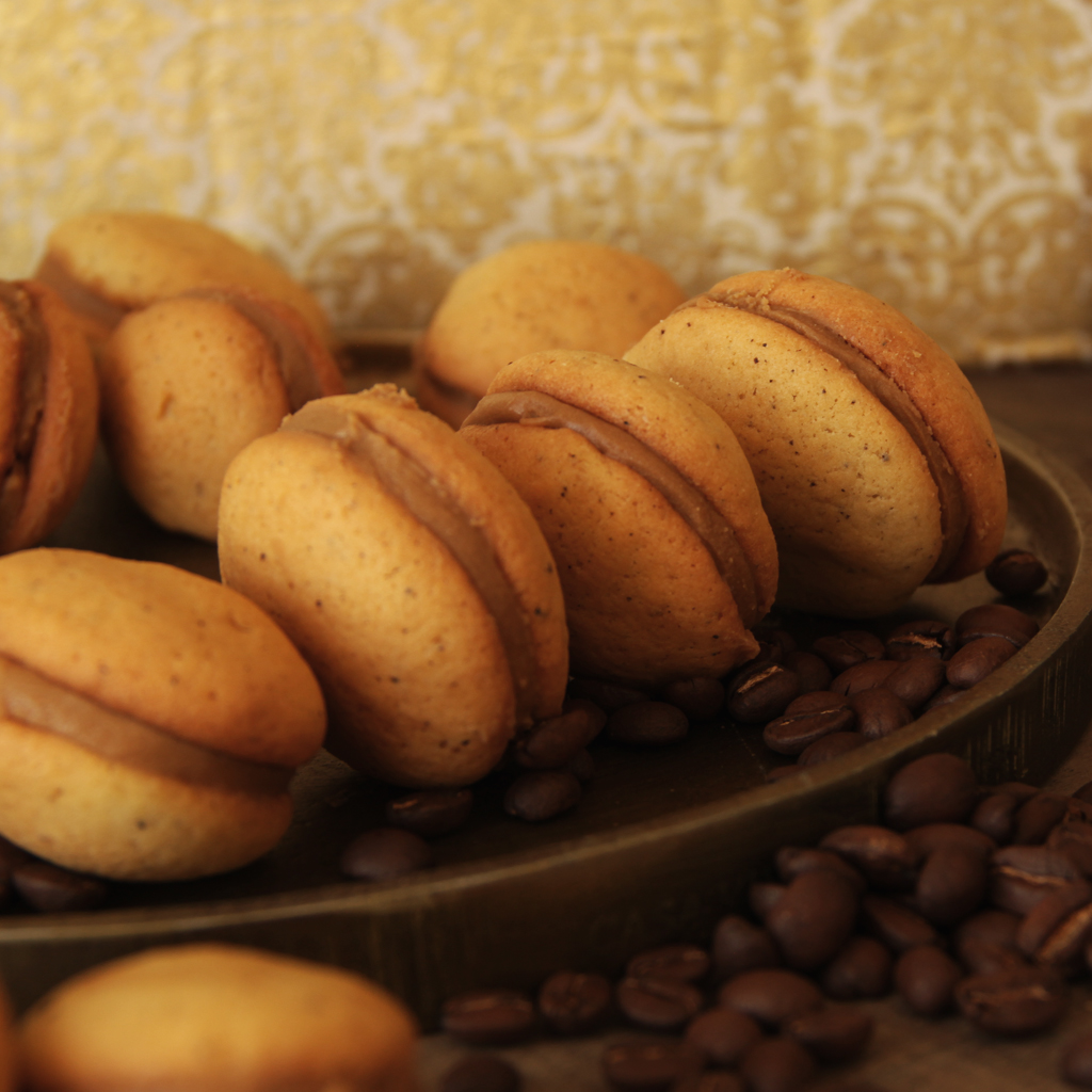 Recette de Whoopies Chocolat Blanc & Café