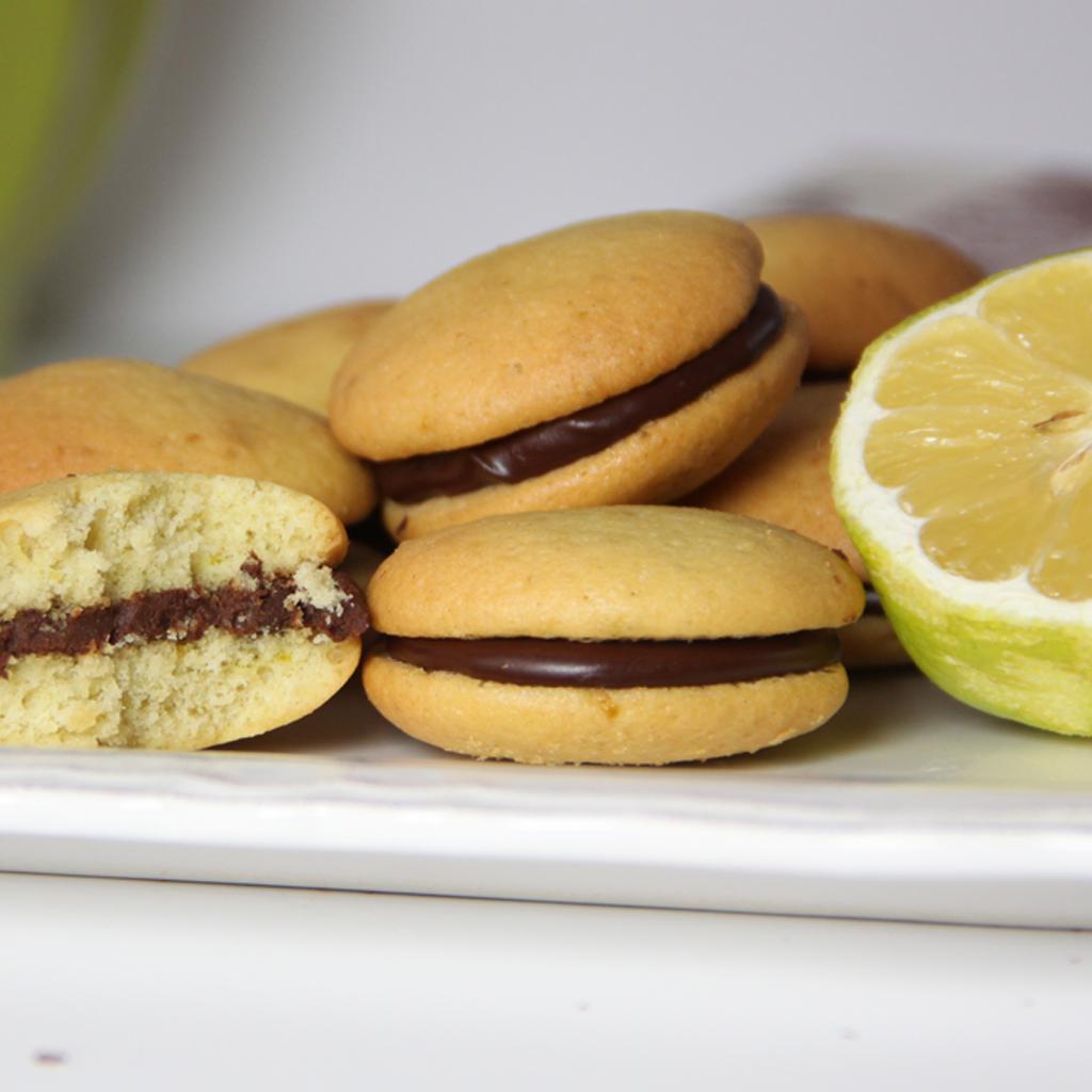 Recette de Whoopies Chocolat et Citron