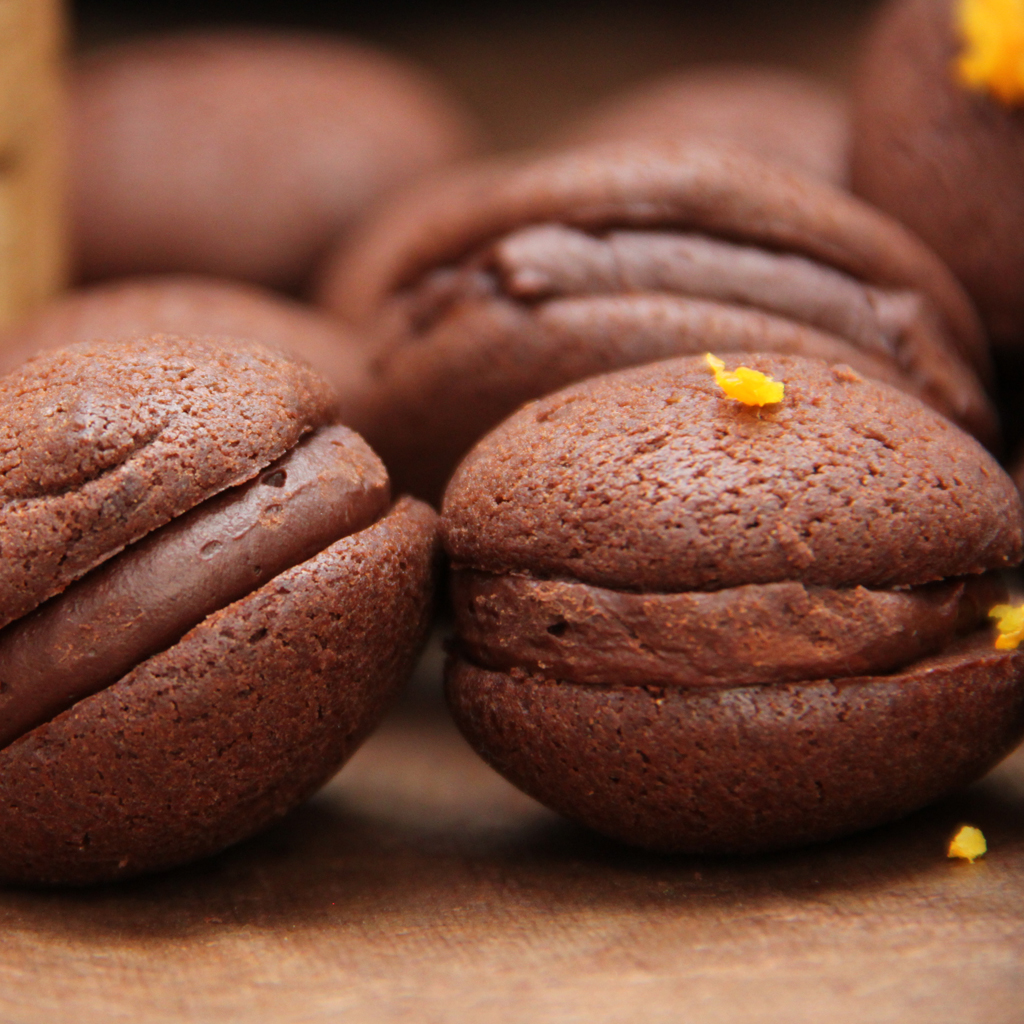 Recette de Whoopies Chocolat Orange