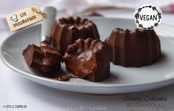 Recette de coeur coulant au chocolat